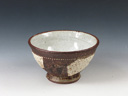photo Japanese pottery sake cup  (Satsuma-Yaki)