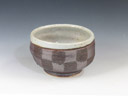 photo Japanese pottery sake cup (Ikazuchi-Gama)