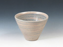 photo Japanese pottery sake cup (Tajimabanko-Yaki)