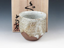 photo Japanese pottery sake cup (Taisha-Yaki)