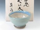 photo Japanese pottery sake cup (Koisago-Yaki)