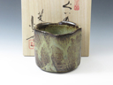 photo Japanese pottery sake cup (Koito-Yaki)