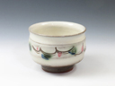 photo Japanese pottery sake cup (Mashiko-Yaki)