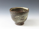 photo Japanese pottery sake cup (Longo-Gamai)