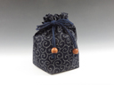 photo Sake cup pouch (Arabesque pattern)
