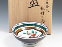 photo Japanese porcelain sake cup (Kutani-Yaki)