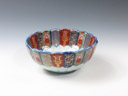 photo Japanese porcelain sake cup (Imari-Yaki)