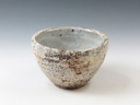 photo Japanese pottery sake cup (Senko-Gama)