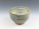 photo Japanese pottery sake cup (Sansuke-Yaki)