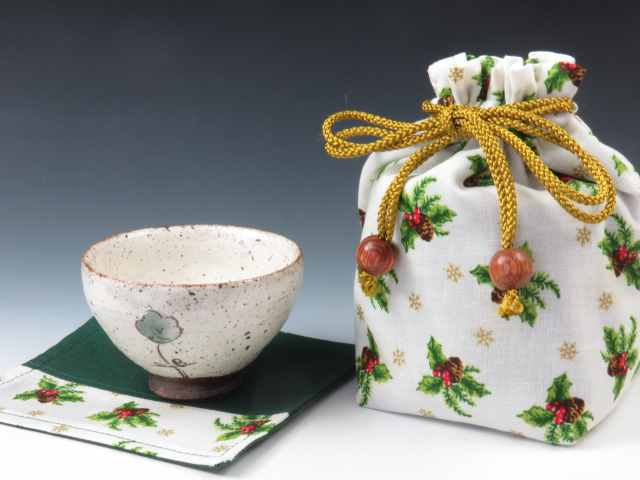 sake cup currying pouch
