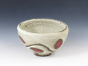 photo Japanese pottery sake cup (Amakusa Tojiki)