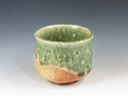 photo Japanese pottery sake cup (Urakiso-Yaki)