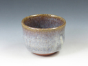 photo Japanese pottery sake cup (Aizuhongo-Yaki)