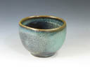 photo Japanese pottery Sake Cup (Nunobiki-Yaki)