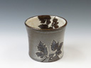 photo Japanese pottery sake cup (Hita-Yaki)