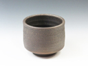 photo Japanese pottery sake cup (Tanba-Yaki)