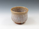 photo Japanese pottery sake cup (Kajicho-Yaki)