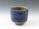 photo Japanese pottery sake cup (Sanou-Yaki)