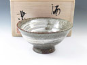 photo Japanese pottery sake cup (Izumohongu-Yaki)