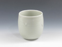 photo Japanese porcelain sake cup (Tobe-Yaki)