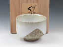 photo Japanese pottery sake cup (Jirashimizu-Yaki)