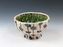 photo Japanese pottery sake cup (Mino-Yaki)