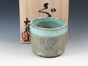 photo Taisha-Yaki (Ishikawa) Pottery Sake cup 3NOT0002
