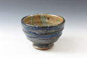 photo Japanese pottery sake cup (Nanbu-Yaki)