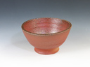 photo Japanese pottery sake cup (Odo-Yaki)