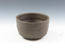 photo Japanese pottery sake cup (Suzu-Yaki)