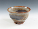 photo Japanese pottery sake cup (Hoen-Gama)