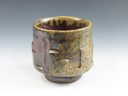 photo Japanese pottery sake cup (Jijyoji-Yaki)