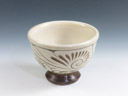 photo Tsuboya-Yaki (Okinawa) Ikutoen Pottery Sake cup 8TUB0062