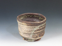 photo Japanese pottery sake cup (Tokoname-Yaki)