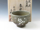 photo Japanese pottery sake cup (Koda-Yaki)